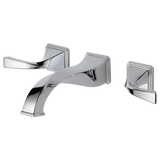 VIRAGE® TWO HANDLE WALL-MOUNT LAVATORY FAUCET - Briddick Tile + Stone