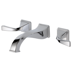 VIRAGE® TWO HANDLE WALL-MOUNT LAVATORY FAUCET
