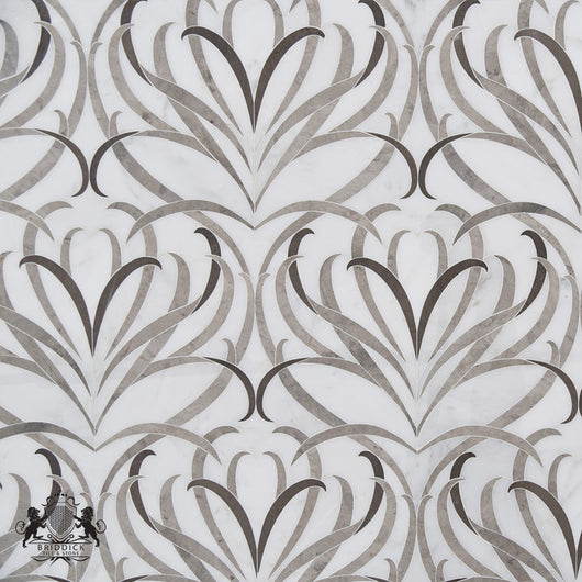 HIGHLINE MOSAIC LOTUS - Briddick Tile + Stone
