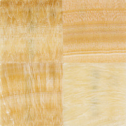 12X12 YELLOW ONYX POLISHED - Briddick Tile + Stone