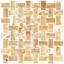 BASKET YELLOW ONYX POLISHED - Briddick Tile + Stone