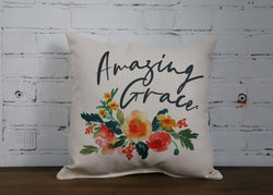 Amazing Grace Pillow - Briddick Tile + Stone