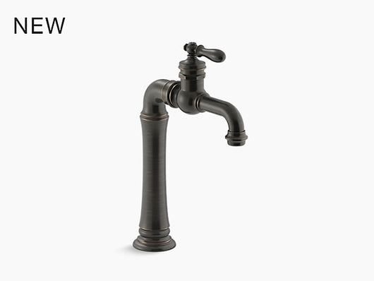 Kohler Artifacts® Gentleman's® single-handle bathroom sink faucet - Briddick Tile + Stone