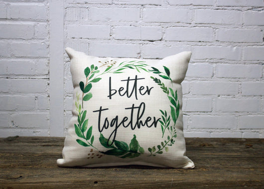 Better Together Pillow (2 week lead time) - Briddick Tile + Stone