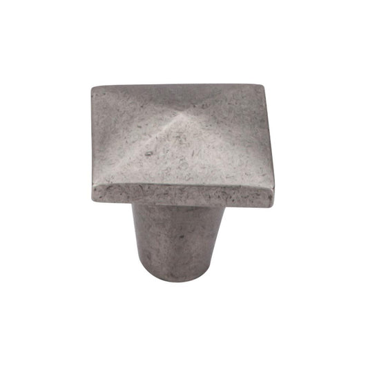 Top Knobs Aspen Square Knob 1 1/4 Inch - Briddick Tile + Stone