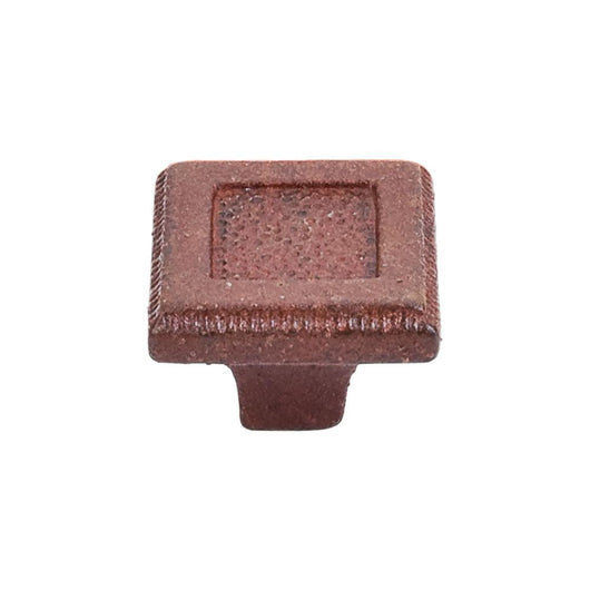 Top Knobs Square Inset Knob 1 5/16 Inch True - Briddick Tile + Stone