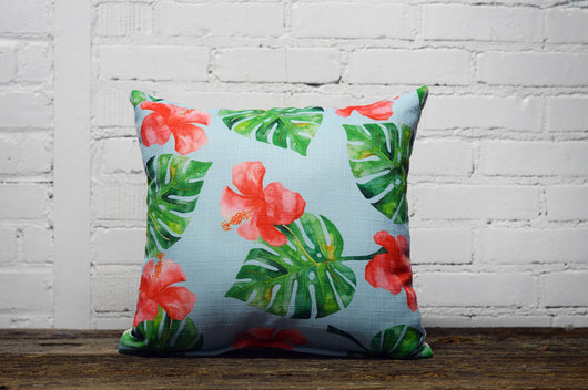 florida tropics Pillow - Briddick Tile + Stone