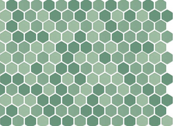 Green Mix Matte Hex 1