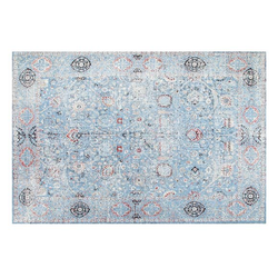 Area Rug 5x8 Jamila Blue by Artajul Rugs - Briddick Tile + Stone
