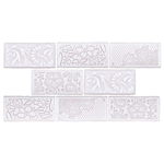 Antic Feelings 3x6 Milk -Floral Designs (sold by the square foot) - Briddick Tile + Stone