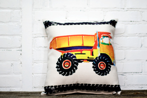 Dump Truck Pillow - Briddick Tile + Stone