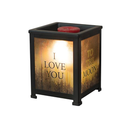 Love You to the Moon Wax Warmer - Briddick Tile + Stone