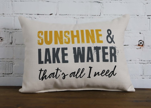 LAKE WATER PILLOW - Briddick Tile + Stone