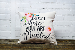 Bloom Pillow - Briddick Tile + Stone