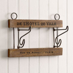 Paris wall rack Hanger - Briddick Tile + Stone