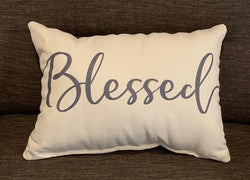 Blessed Pillow - Briddick Tile + Stone