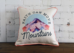 Move Mountains Pillow
