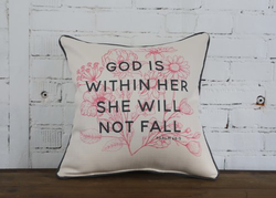 God is within Her - Briddick Tile + Stone