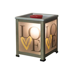 Love Glass Lanter Warmer - Briddick Tile + Stone