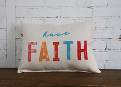 Faith Pillow - Briddick Tile + Stone