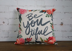 Be You! Pillow - Briddick Tile + Stone
