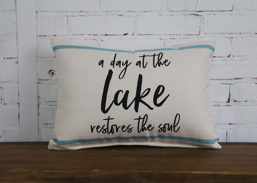 Lake Pillow - Briddick Tile + Stone