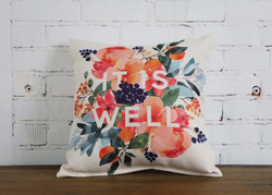 It Is Well Pillow - Briddick Tile + Stone