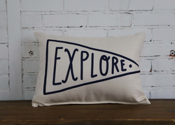 EXPLORE PILLOW - Briddick Tile + Stone