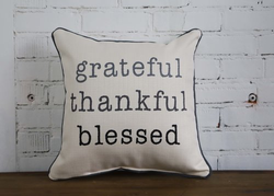 Grateful Pillow - Briddick Tile + Stone