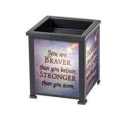 You are Braver Stronger Smarter Loved - Briddick Tile + Stone