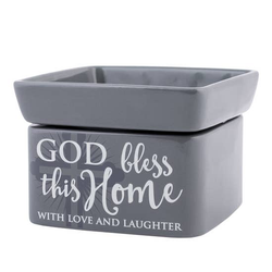 God Bless This Home With Love 2 in 1 Warmer - Briddick Tile + Stone