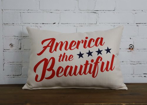 America Pillow - Briddick Tile + Stone