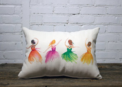 Ballerina Pillow no piping - Briddick Tile + Stone