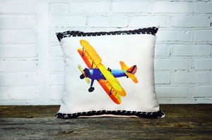 Airplane Pillow no piping - Briddick Tile + Stone