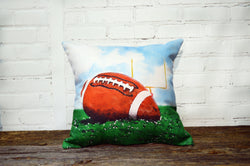 Football Pillow - Field Goal - Briddick Tile + Stone