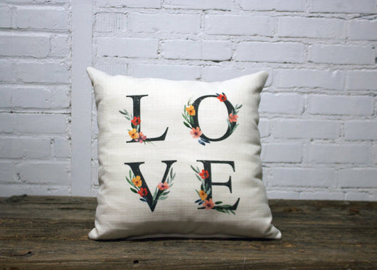 Love letter Pillow - Briddick Tile + Stone