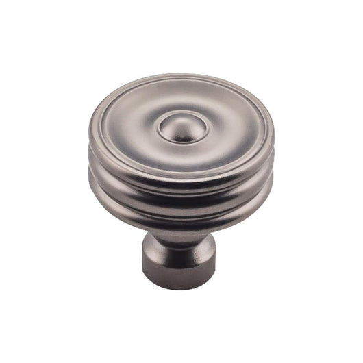Top Knobs Brixton Ridged Knob 1 1/4 Inch - Briddick Tile + Stone