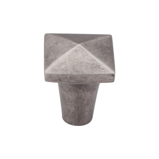 Top Knobs Aspen Square Knob 7/8 Inch - Briddick Tile + Stone