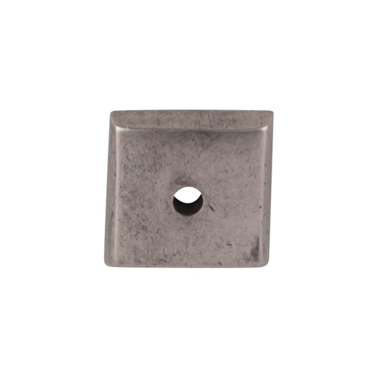 Top Knobs Aspen Square Backplate 7/8 Inch - Briddick Tile + Stone