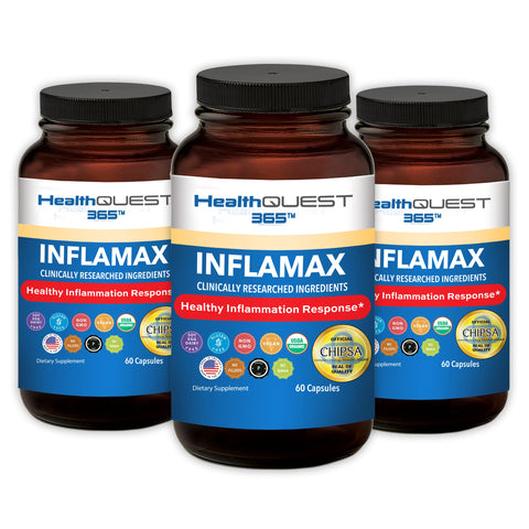 InflaMax 365 - 3 Bottles