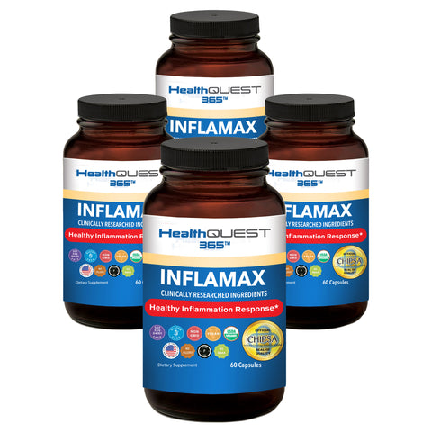 InflaMax 365 - 4 Bottles
