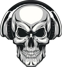 Load image into Gallery viewer, Skull Headphone Covers