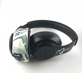 Headphone Covers (Benjamins)