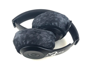 Headphone Covers (Black Camo)