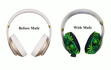 Load image into Gallery viewer, 420 Flower Headphone Covers