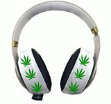 420 White Headphone Covers