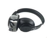 Grey Camo Headphone Covers