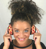 Pizza Headphone Covers