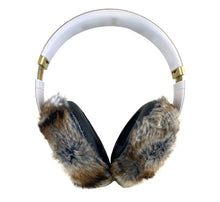 Load image into Gallery viewer, Mink Fur Headphone Covers