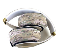 Load image into Gallery viewer, Sand Camo Headphone Covers